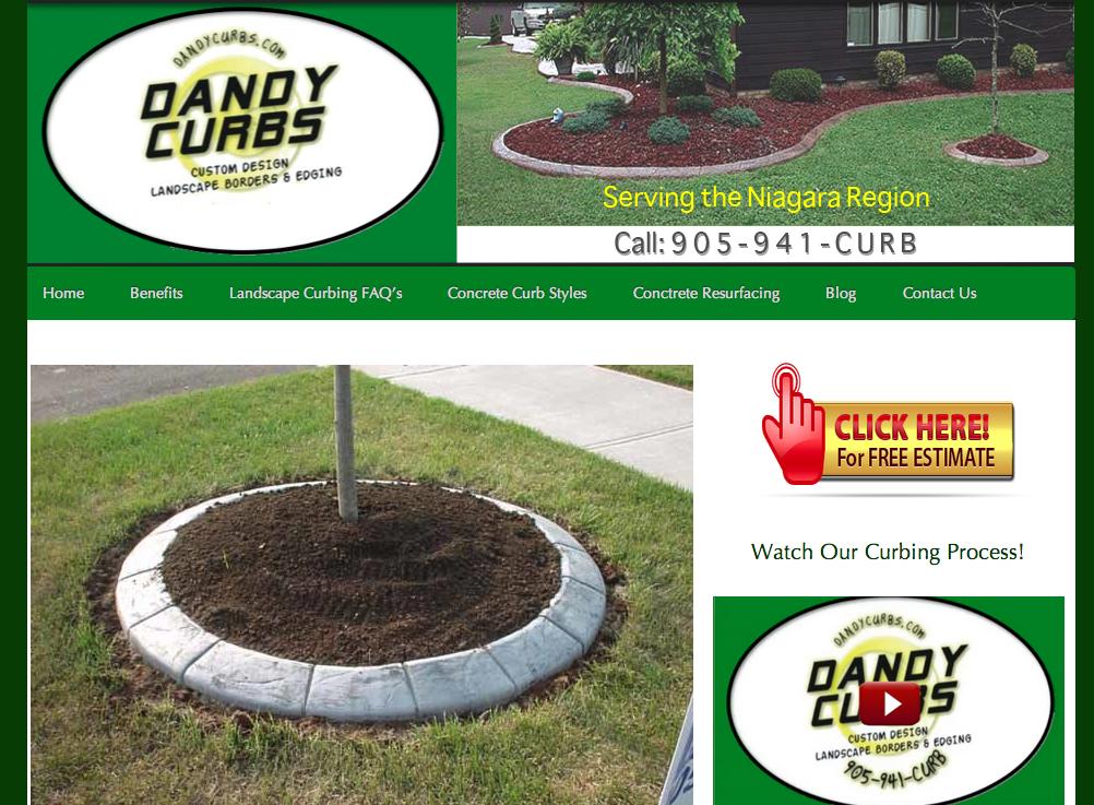 Lancaping Niagara Website